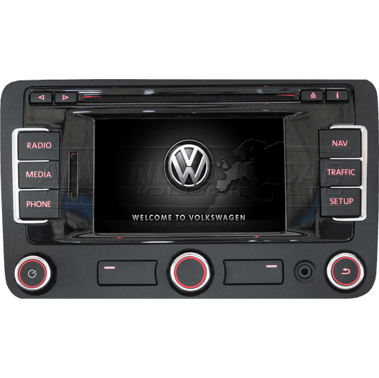 Vw Rns315 Sat Nav Dab Bluetooth Retrofit Advanced In Car