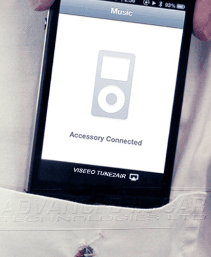 ViseeO Tune2Air - Wirelessly play your music on your factory iPod system