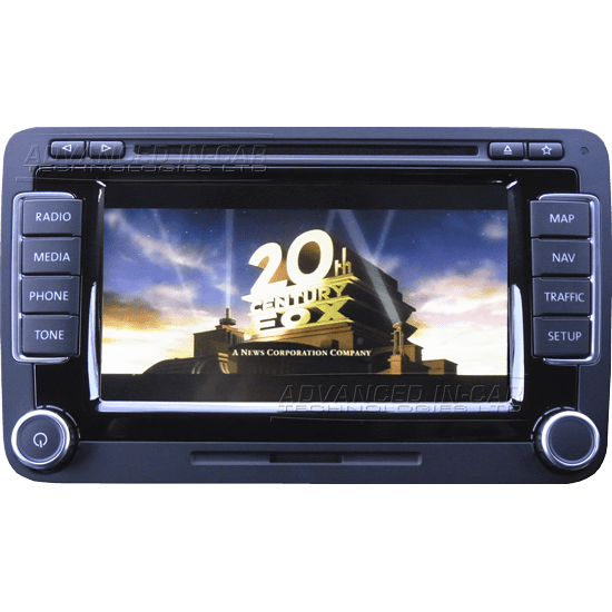 vw rns 510 video in motion advanced in car technologies. Black Bedroom Furniture Sets. Home Design Ideas