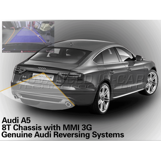 audi a5 8t reversing camera retrofit advanced in car tech. Black Bedroom Furniture Sets. Home Design Ideas