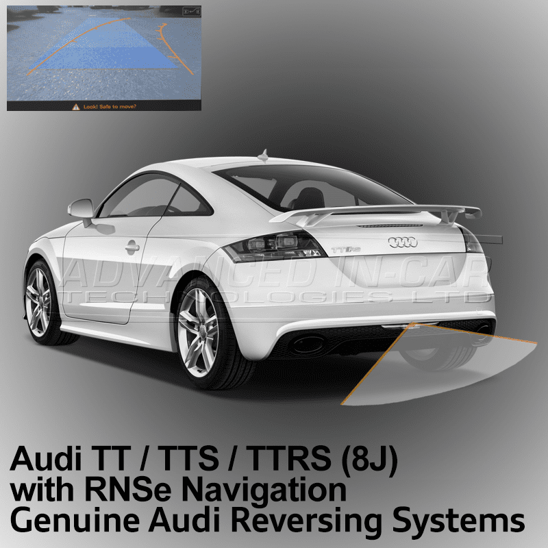 audi tt 8j reversing camera retrofit advanced in car. Black Bedroom Furniture Sets. Home Design Ideas