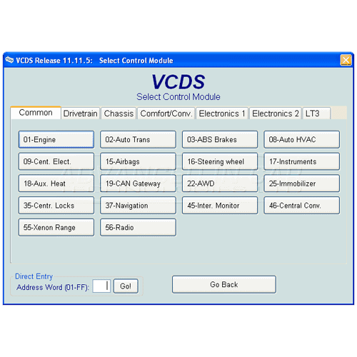 Vcds Vag Com Cable Powerful Diag Tool For Vw Audi