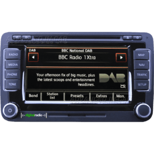 Volkswagen RNS 510 DAB Navigation - Digital Radio