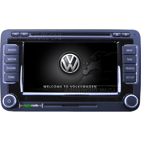 Volkswagen Rns 510 Dab Amp Navigation Advanced In Car
