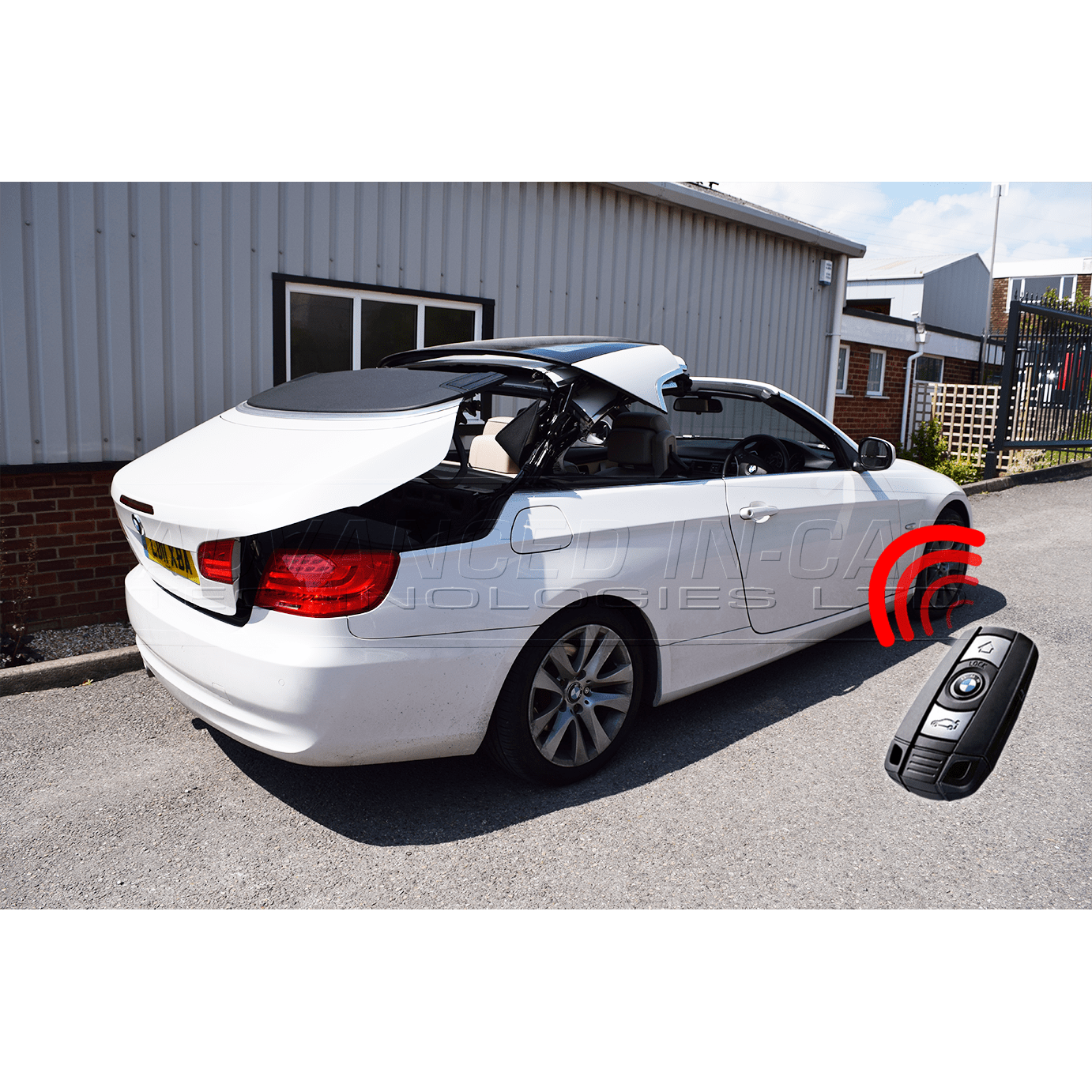 Bmw Z4 Hardtop Convertible: Remote Roof Open Module