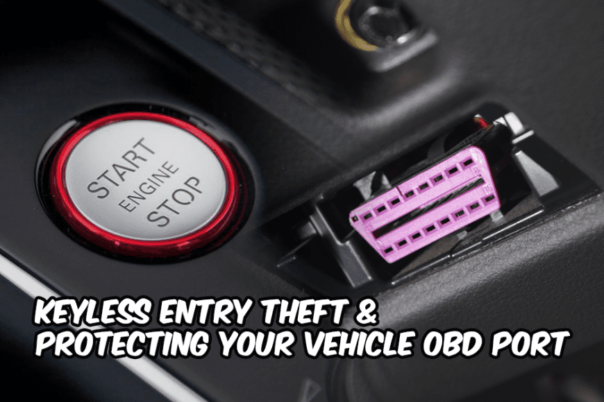 Keyless Entry & OBD Theft Relocation