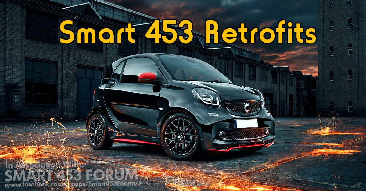 smart 453 retrofits advanced in car technologies. Black Bedroom Furniture Sets. Home Design Ideas