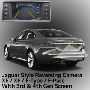 Jaguar Reversing Camera