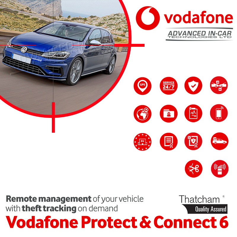 Vodafone Protect Connect 6 Stolen Vehicle Tracker