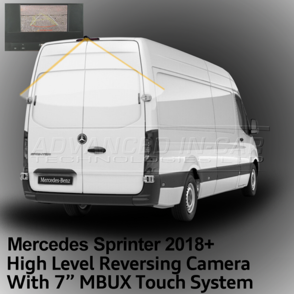 "Mercedes Sprinter 2018 Reversing Camera with 7"" MBUX"