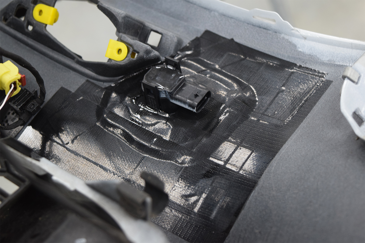 Audi S3 Internal Sensor Mounted