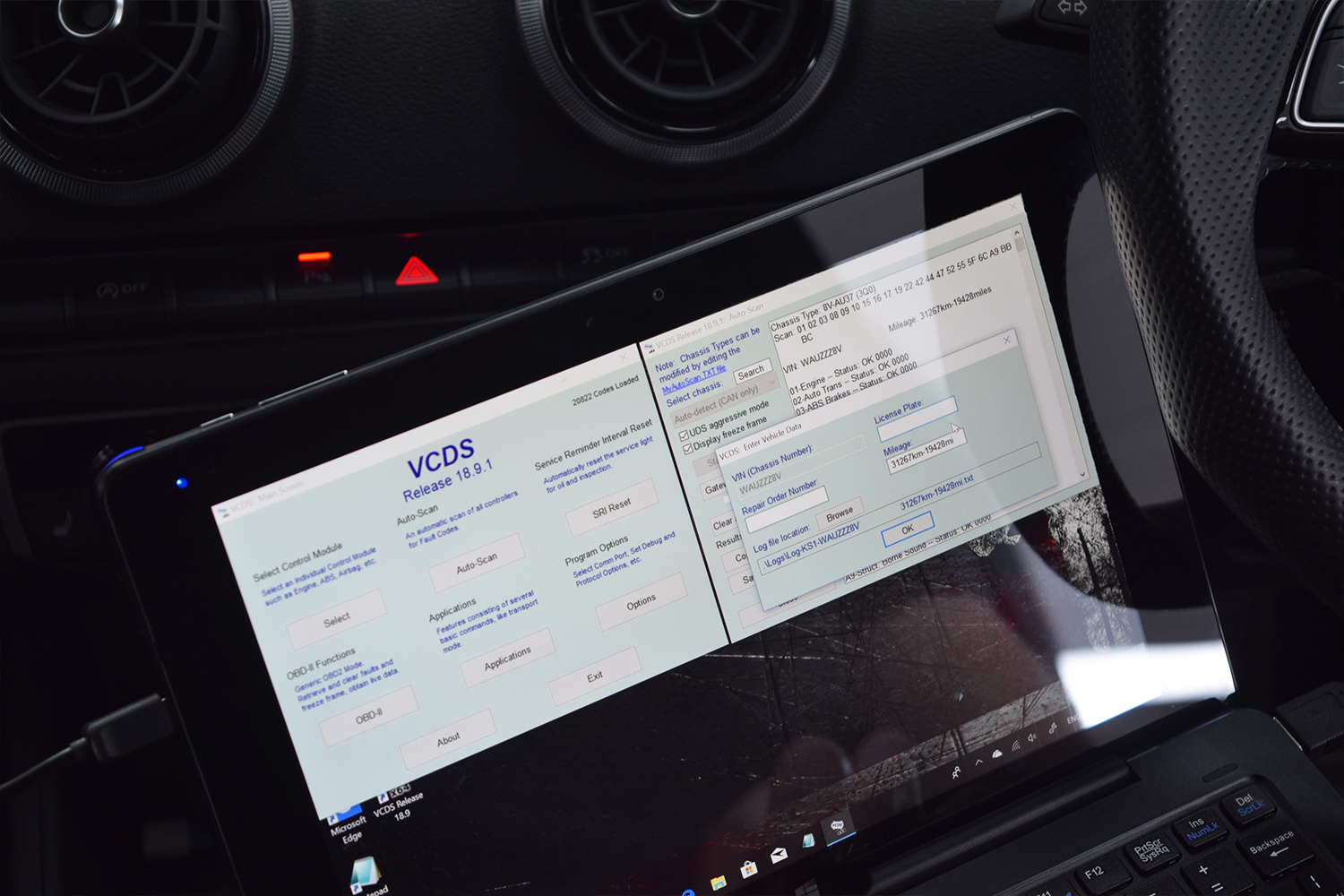Audi S3 VCDS Scan