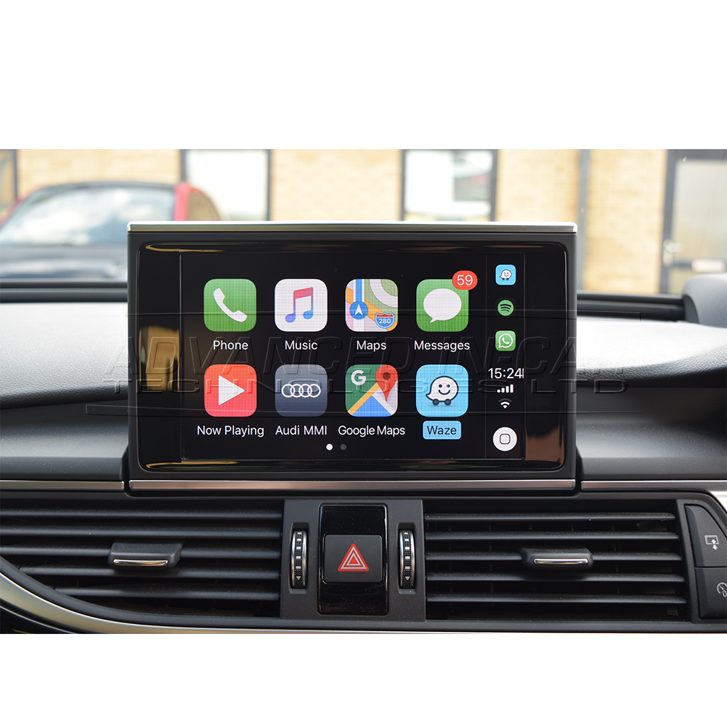 Wireless Apple CarPlay for Audi A6 & A7