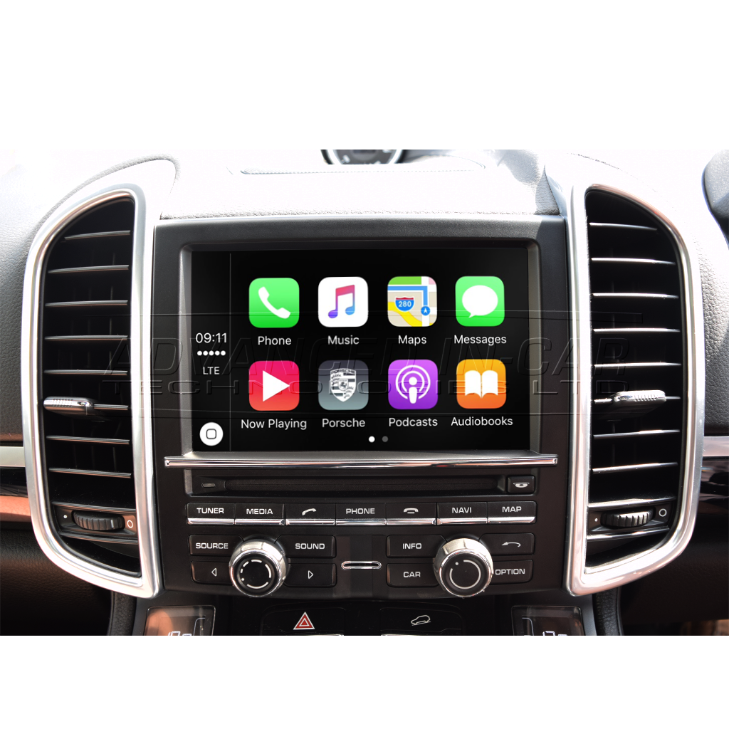 Wireless Apple CarPlay for Porsche PCM 3 1